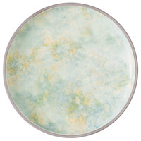 Villeroy & Boch 16-4050-2631 Artesano Meadow 9 1/2 inch River Porcelain Coupe Flat Plate - 6/Case