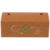 Southern Champion 27296 8 7/8 inch x 4 7/8 inch x 3 1/16 inch Hearthstone Take Out Lunch / Chicken Box with Tuck Top   - 250/Case