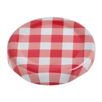 Core by Acopa Red Plaid Milk Bottle Lid - 12/Case