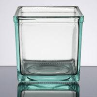 Cal-Mil C5X5GLASS 5 inch x 5 inch Clear Glass Jar