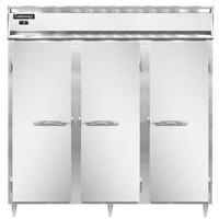 Continental DL3F 78 inch Solid Door Reach-In Freezer