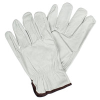 Standard Grain Cowhide Driver's Gloves - Large - Pair
