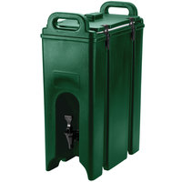 Cambro 500LCD519 Green 4.75 Gallon Camtainer Insulated Beverage Dispenser