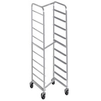 Channel 404SN 10 Pan Front Load Stainless Steel Nesting Bun / Sheet Pan Rack - Assembled