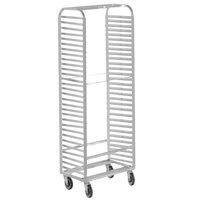 Channel 410A 30 Pan Side Load Aluminum Bun / Sheet Pan Rack - Assembled
