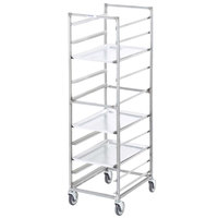 Channel 404A 10 Pan End Load Aluminum Bun / Sheet Pan Rack - Assembled
