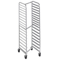 Channel 406SN 18 Pan End Load Stainless Steel Nesting Bun / Sheet Pan Rack - Assembled