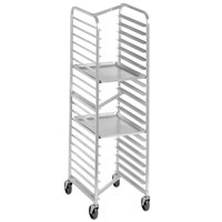Channel 401AN-HD 20 Pan Front Load Heavy-Duty Aluminum Nesting Bun / Sheet Pan Rack - Assembled