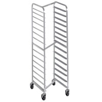 Channel 402SN 15 Pan Front Load Stainless Steel Nesting Bun / Sheet Pan Rack - Assembled