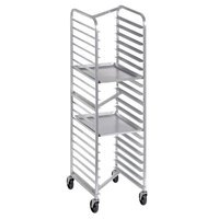 Channel 401SN 20 Pan Front Load Stainless Steel Nesting Bun / Sheet Pan Rack - Assembled