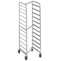 Channel 403SN 12 Pan Front Load Stainless Steel Nesting Bun / Sheet Pan Rack - Assembled