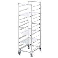 Channel 403A 12 Pan End Load Aluminum Bun / Sheet Pan Rack - Assembled