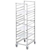 Channel 402A 15 Pan End Load Aluminum Bun / Sheet Pan Rack - Assembled