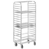 Channel 415A 27 Pan Side Load Aluminum Bun / Sheet Pan Rack - Assembled