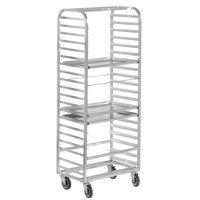 Channel 413A 12 Pan Side Load Aluminum Bun / Sheet Pan Rack - Assembled