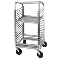 Channel 564NS 18 Pan Front Load Stainless Steel Bun / Sheet Pan Rack with Wire Slides - Assembled