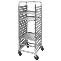 Channel 570AC6 36 Pan End Load Aluminum Bun / Sheet Pan Rack - Assembled
