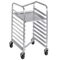 Channel 425AN 9 Pan Front Load Aluminum Nesting Bun / Sheet Pan Rack - Assembled