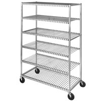 Channel 569 6 Shelf Mobile Aluminum Cooling Rack