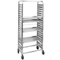 Channel 571AC 39 Pan Side Load Aluminum Bun / Sheet Pan Rack - Assembled