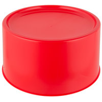Choice Red 3 and 6 Gallon Round Beverage Dispenser Base