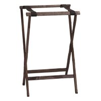 Carlisle C3620W11 Wood Walnut Tray Stand - 30 inch