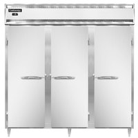 Continental DL3F-SS 78 inch Solid Door Reach-In Freezer