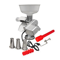 Weston Roma Food Strainer and Sauce Maker with Two-Speed Motor Attachment and 4-Piece Accessory Kit - 120V, 90W