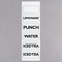 Choice Beverage Dispenser Labels