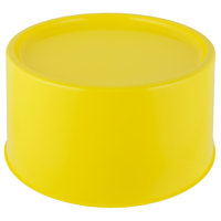 Choice Yellow 3 and 6 Gallon Round Beverage Dispenser Base