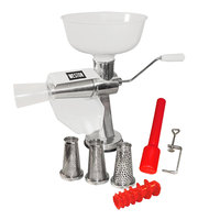 Weston Roma Food Strainer and Sauce Maker with 4-Piece Accessory Kit