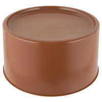 Choice Brown 3 and 6 Gallon Round Beverage Dispenser Base