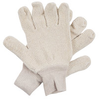 Loop-Out Natural 18-Ounce Terry Work Gloves - Large - Pair - 12/Pack
