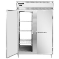 Continental DL2F-SS-PT 52 inch Solid Door Pass-Through Freezer