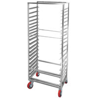 Channel AXD2820 20 Pan Side Load Heavy-Duty Aluminum Bun / Sheet Pan Rack - Assembled
