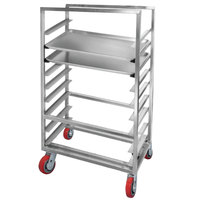 Channel AXD2825 9 Pan Side Load Heavy-Duty Aluminum Bun / Sheet Pan Rack - Assembled