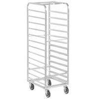 Channel WA04 13 Pan End Load Aluminum Walk-In Bun / Sheet Pan Rack - Assembled
