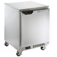 Beverage-Air UCR20HC-23 20 inch Shallow Depth Low Profile Undercounter Refrigerator