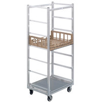 Channel PCR7M 7 Box Mobile Aluminum Produce Crisping Box Rack