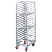 Channel AXD1808 8 Pan End Load Heavy-Duty Aluminum Bun / Sheet Pan Rack - Assembled