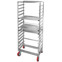 Channel AXD2815 15 Pan Side Load Heavy-Duty Aluminum Bun / Sheet Pan Rack - Assembled