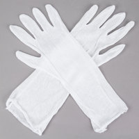 Lightweight Cotton Reversible Lisle Gloves - Large - Pair - 12/Pack