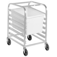 Channel PBA406 6 Box Mobile Aluminum Food Box Rack