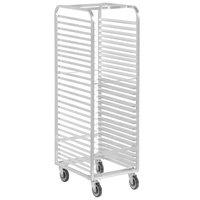 Channel WA02 27 Pan End Load Aluminum Walk-In Bun / Sheet Pan Rack - Assembled
