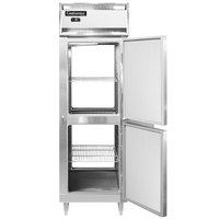 Continental DL1F-SS-PT-HD 26 inch Solid Half Door Pass-Through Freezer
