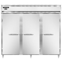 Continental DL3FE-SS 86 inch Extra-Wide Solid Door Reach-In Freezer