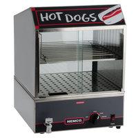 Nemco 8301 Countertop Hot Dog Steamer - 120V