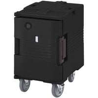 Cambro UPCHW400110 Black Ultra Pan Carrier Heated Holding Pan Carrier with  - 110V