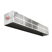 Curtron LPK-72-2-V115 72 inch Surface Mounted Low Profile Air Curtain - 115V