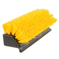 Carlisle 4042100 10 inch Hi-Lo Floor Scrub Brush with Squeegee